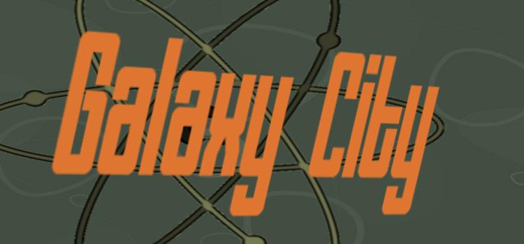 Galaxy city banner