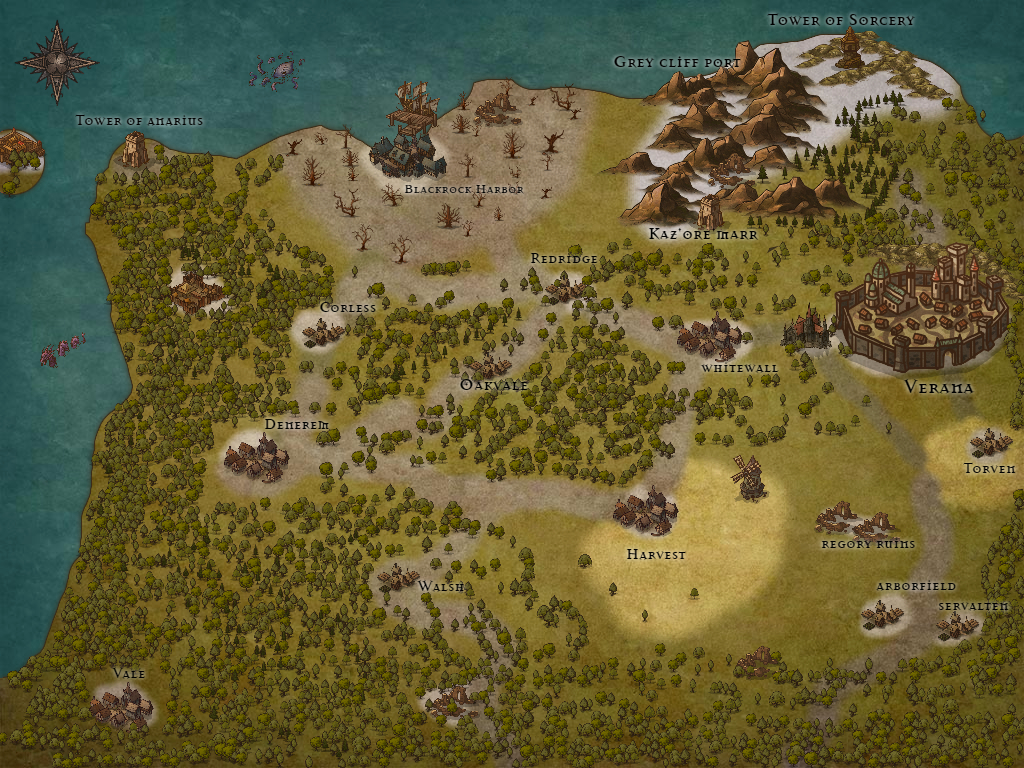 Map valorn
