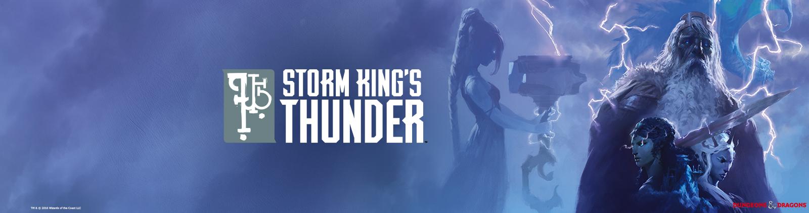 Storm king s thunder banner