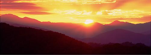 Foothills sunburst