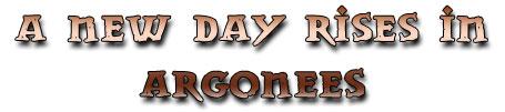 Argonees title