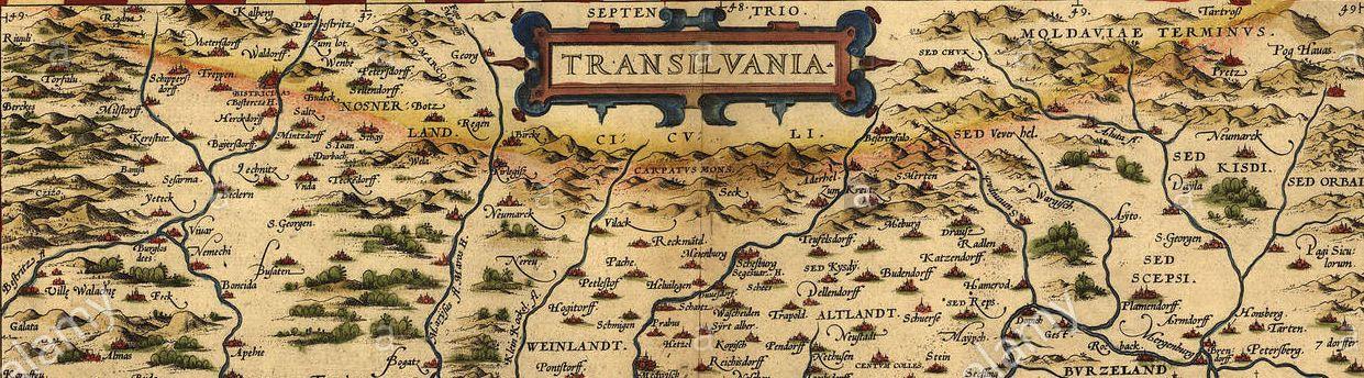1570 map of transylvania