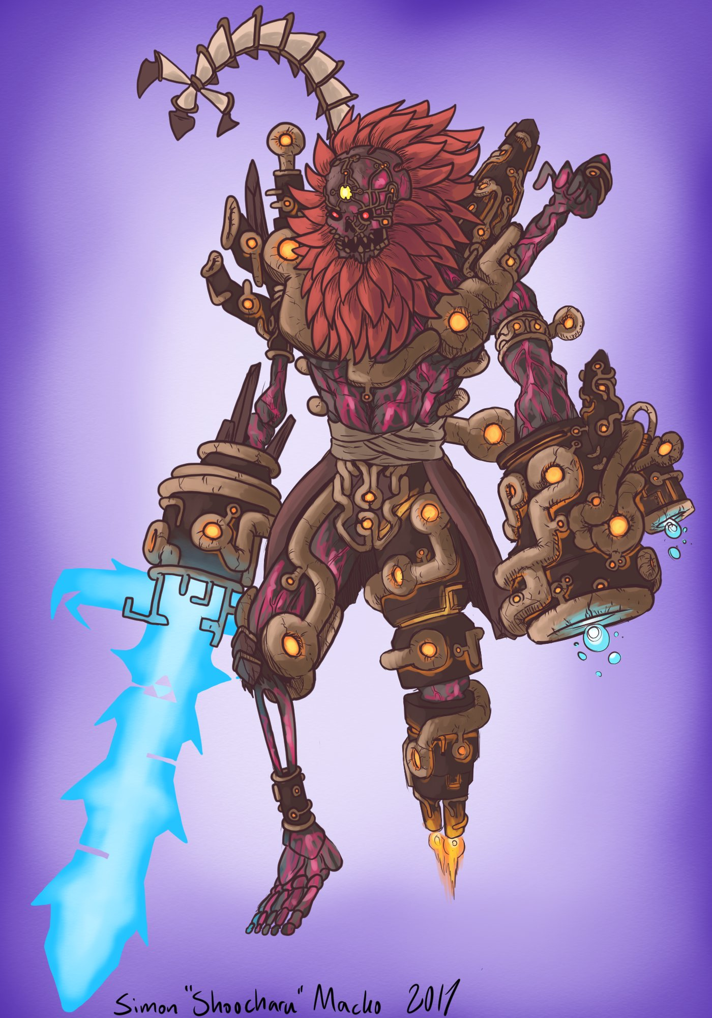 Calamity Ganon Legend Of The Dawn Obsidian Portal