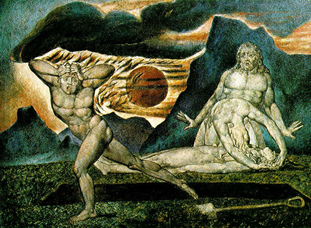 William blake s cain and abel