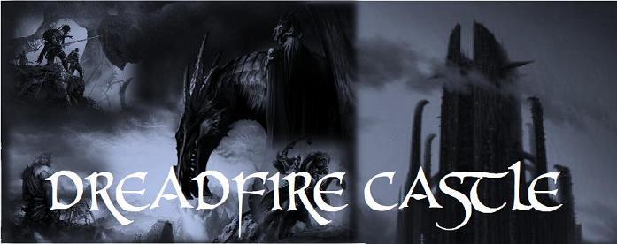Dreadfire castle banner