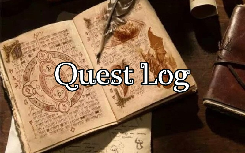 Quests our heroes have embarked on.