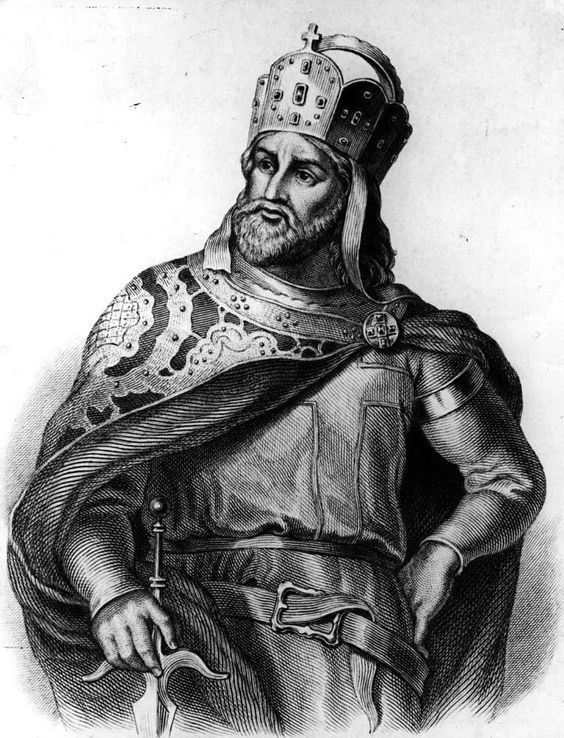King Charles III, depicted shortly after his official coronation as monarch over the Western Duchies