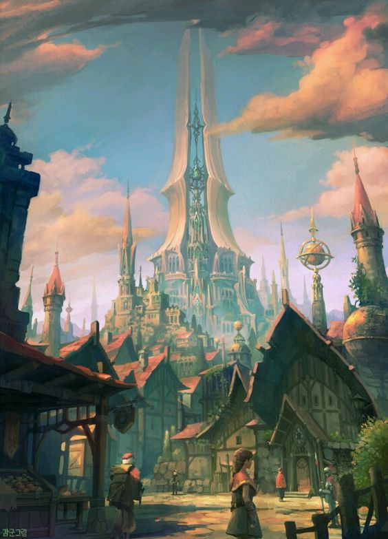 The Ralian Spire is the crowning achievement of Gnomish architecture.