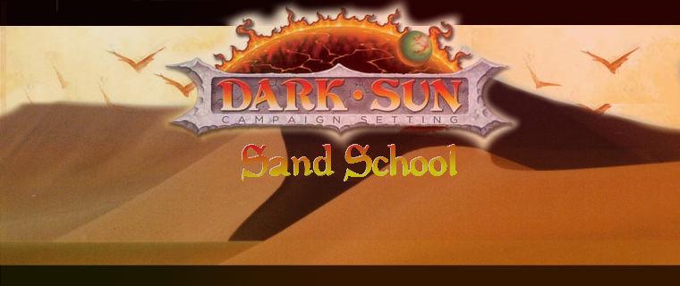 Sand school bannner