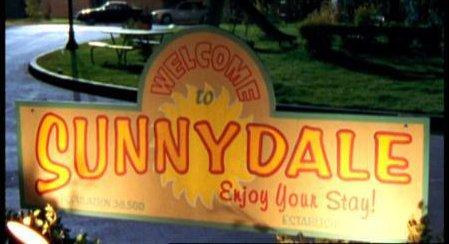 Sunnydalewelcomeschild