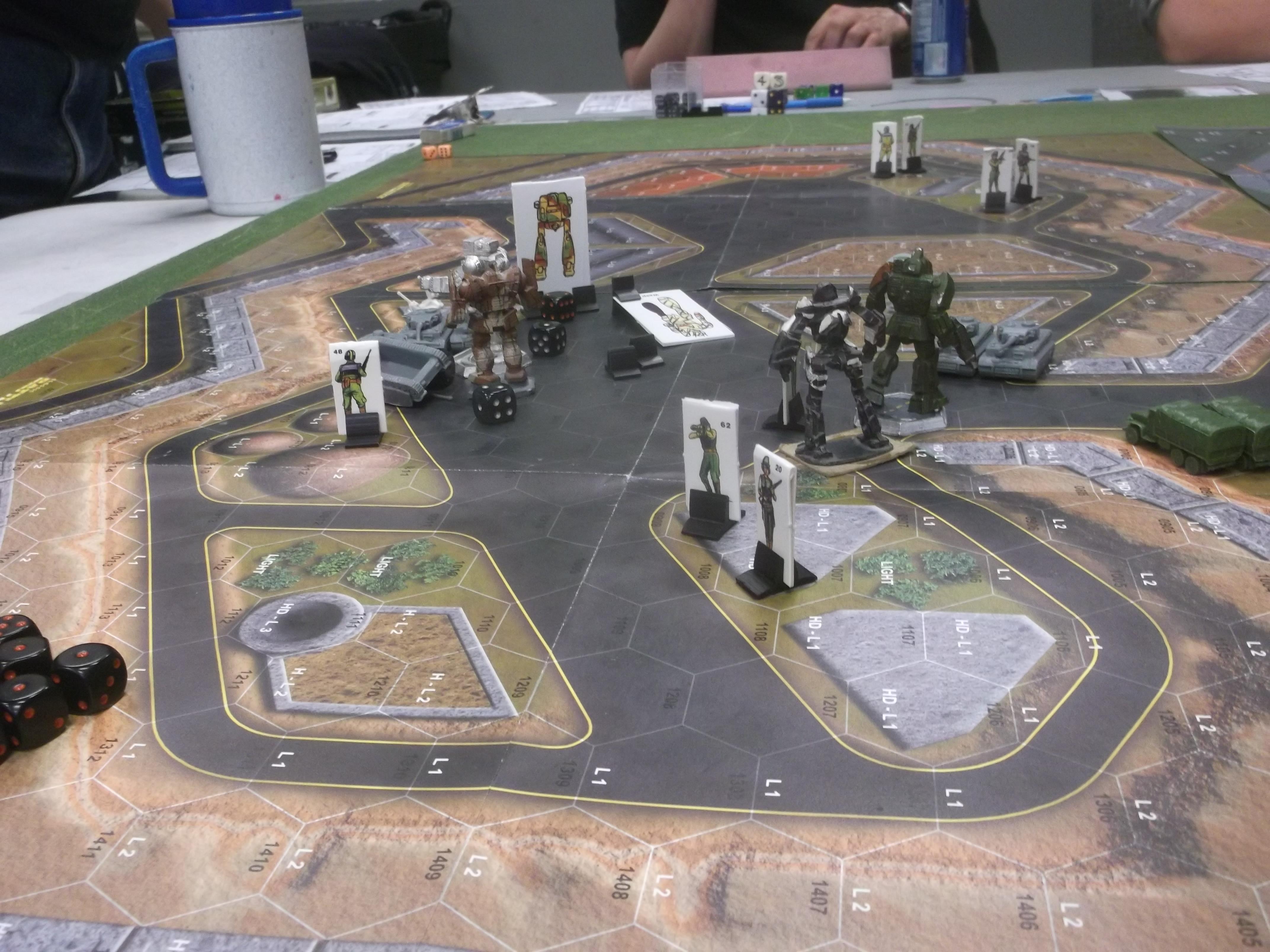Battletech (Farscape) : The New Breed | Adventure Log
