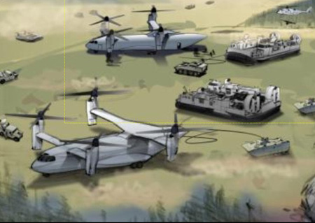 Frontier-Class Air Transport | Battletech (Farscape) : The New Breed