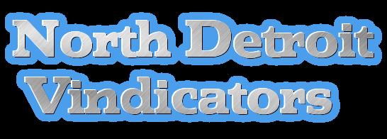 North detroit vindicators blue