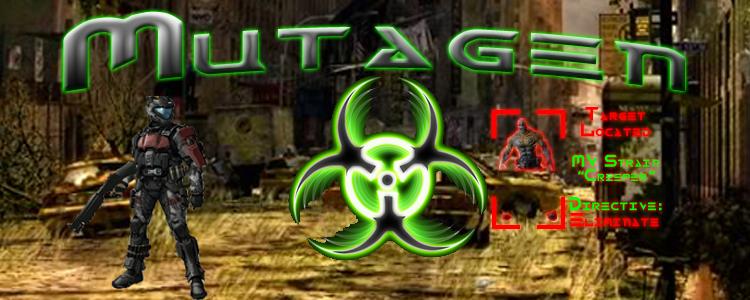 Mutagen banner