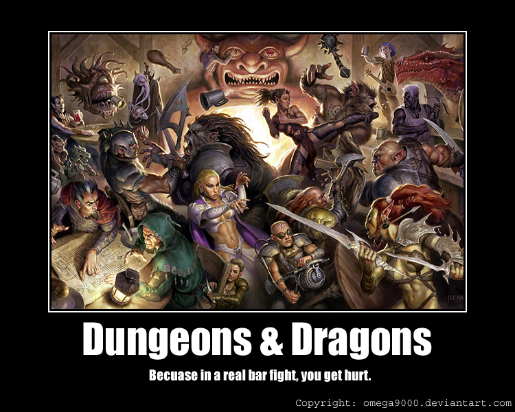 Dungeons n dragons by omega9000