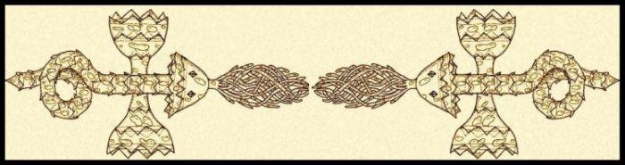 Doppelschlange klein