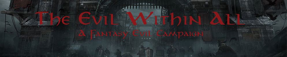 Evil within all banner