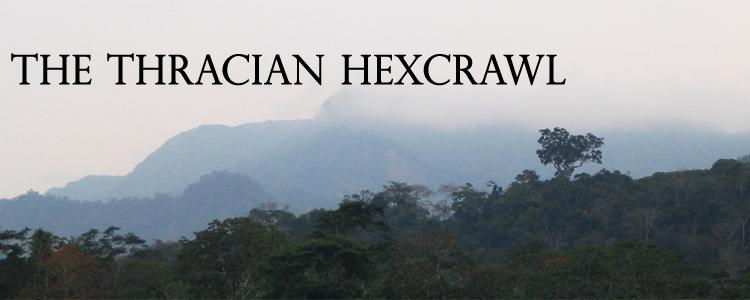 Thracian hexcrawl obsidian portal banner