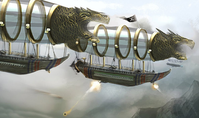 Pirate airships