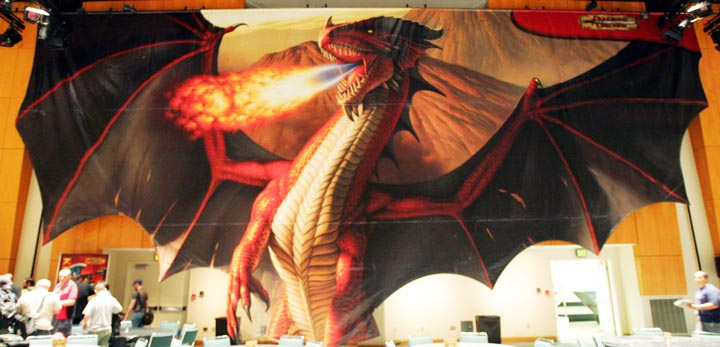 Dnd dragon banner