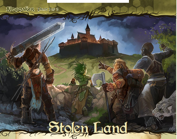 Kingmaker stolen land