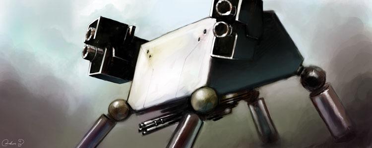 Robot gun002
