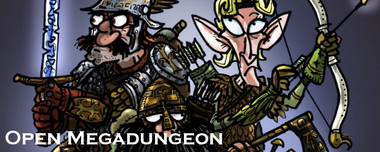 Open megadungeon