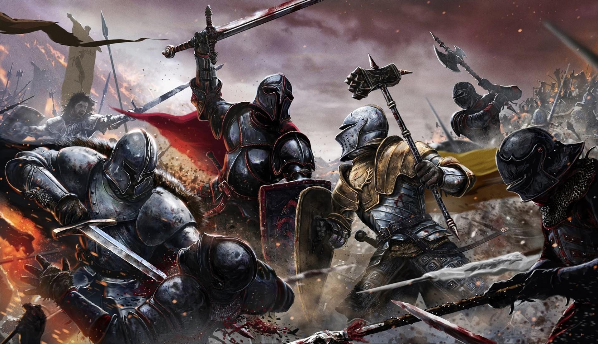 Scene of war