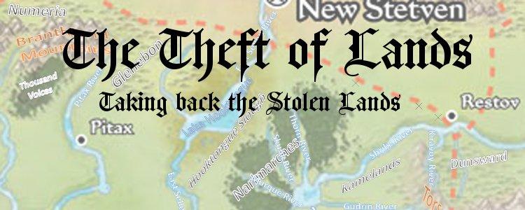 Stolen lands cartograph banner