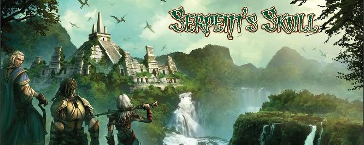 Serpent s skull logo