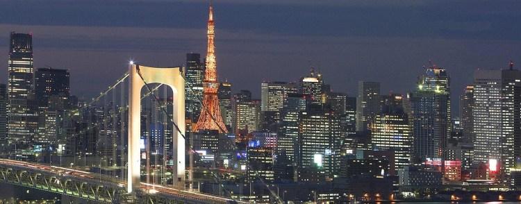 Rainbow bridge tokyo japan