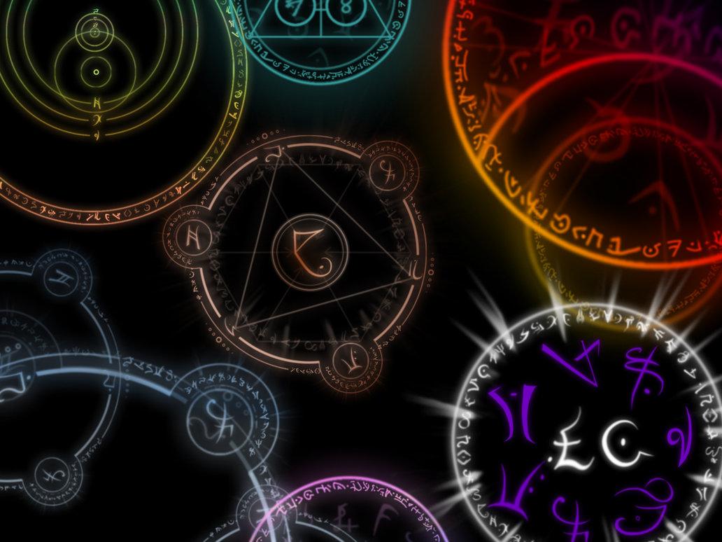 Arcane symbols by stinkmeaner