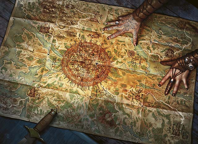 Zendikar map