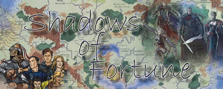 Shadows of fortunate banner