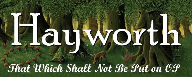 Hayworth banner