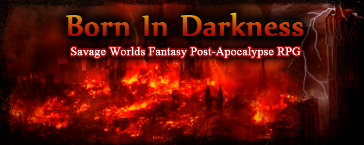 Born in darkness banner 1