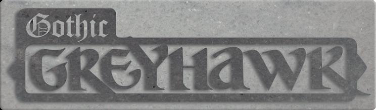 Gothic greyhawk