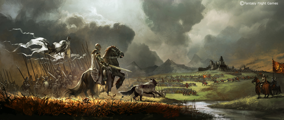 1000x423 1652 battles of westeros 2d illustration battle warriors horses fantasy picture image digital art