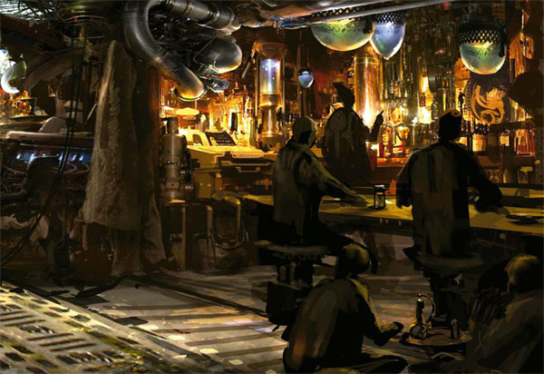 Star wars bar