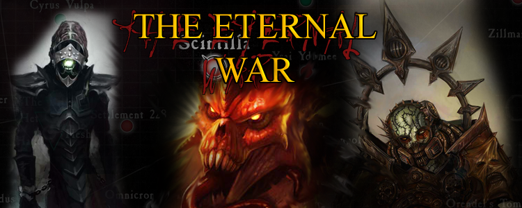 The eternal war header