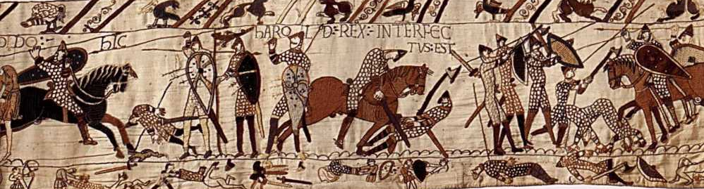 Bayeux tapestry clip