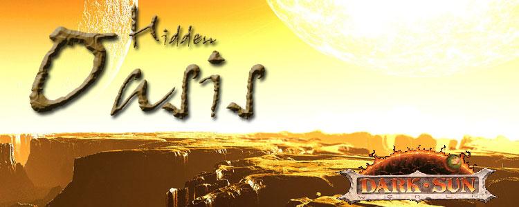 Hidden oasis banner