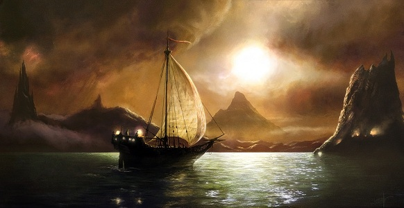 Sailing to achaeron by moonxels resized