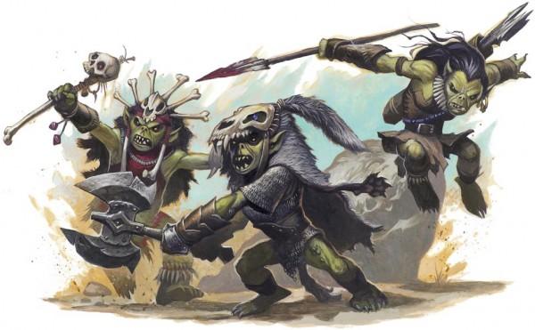 Goblins a bit smaller