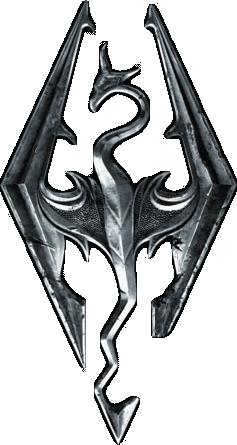 Skyrim logo  by mrjaiho2012 d4q8h01