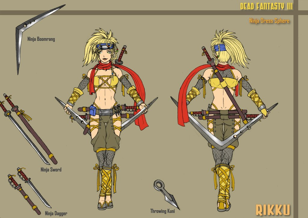 Rikku__Ninja_Dress_Sphere_DF3_by_Hunter_Wolf.jpg