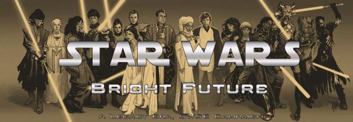 Bright future banner