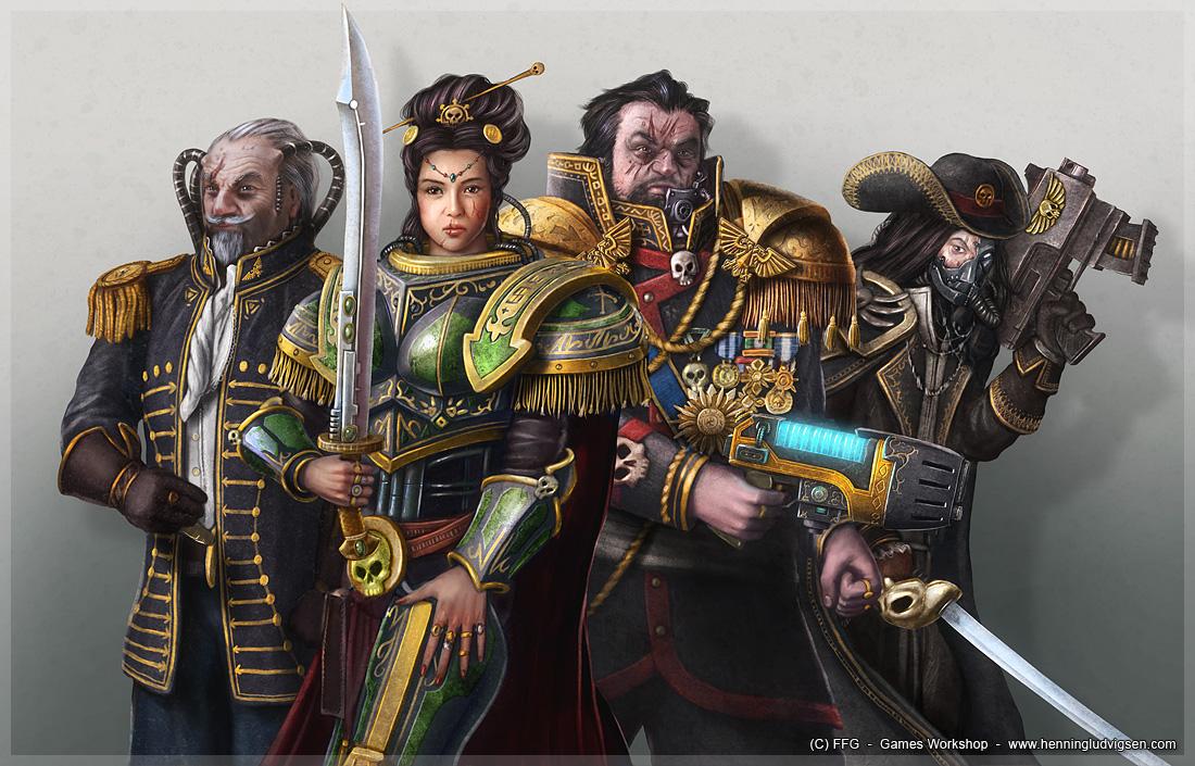 Warhammer 40k  rogue trader 1 by henning