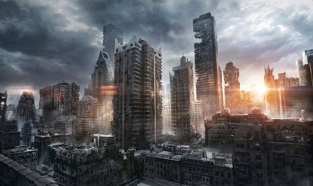 New york ruins jenovah art