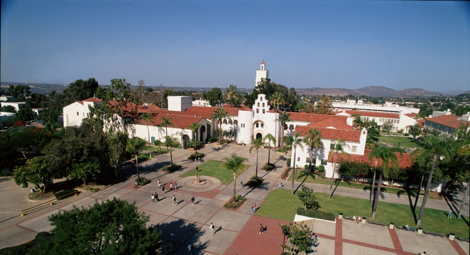 Sdsu campus from on high